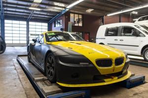 BMW Z4 Zilhouette uitlijnen