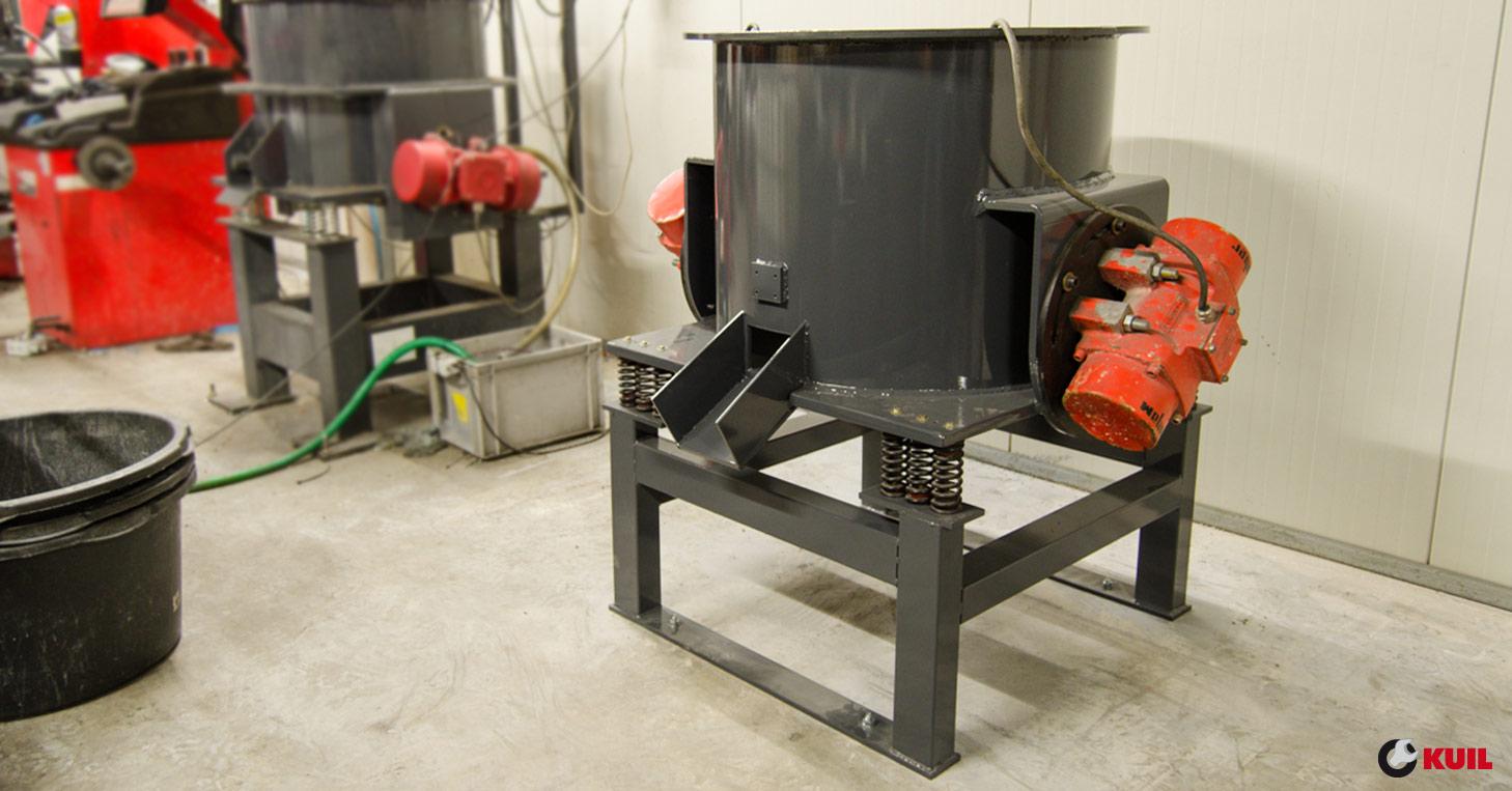 Nieuwe Machine Voor Velgen Hoogglans Verdichten Kuil