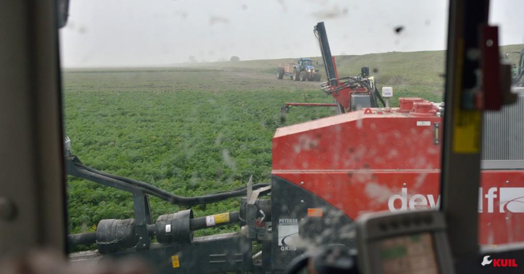 wortel-oogst-tractoren