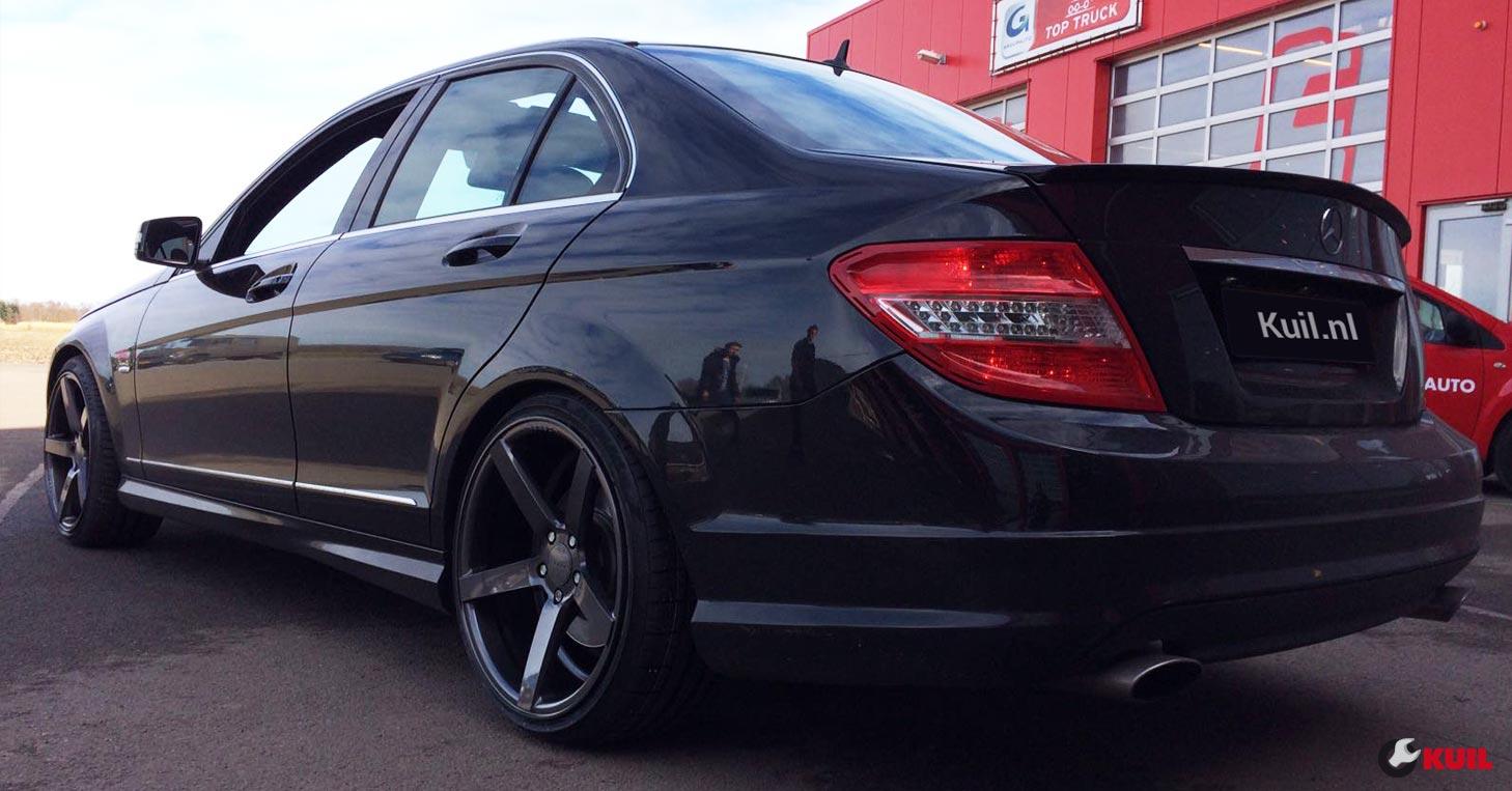 Mercedes C320 Cdi Op Vossen Velgen Kuil Banden Blog