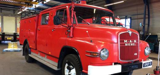 man 415 diesel brandweer